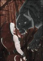 Guter Wolf, traust du mir? by Saoirsa