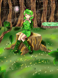 Saria by Coco-of-the-Forest