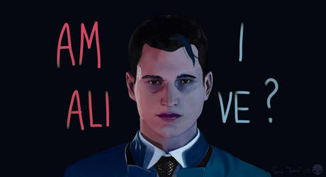Connor RK800 fanart by S-Truchlo