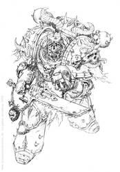 Dark Creed Warhammer 40K by KlausScherwinski