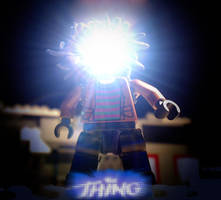 The Thing Lego Poster by PerspectiveGhost2