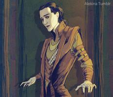 Loki by AlekinaArt