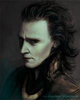 Prince Loki by AlekinaArt