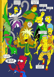 Spider-Man and The Simpsons Mash-Up by Nick-Perks