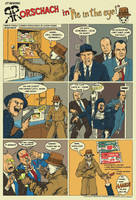 Rorschach and Hostess pies by Nick-Perks