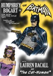 TLIID movie miscasting - Humphrey Bogart as Batman by Nick-Perks