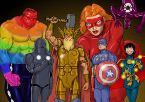 TLIID Crossover events - Marvel: One Million by Nick-Perks