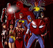 TLIID Marvel crossover mashup 2 - full-size by Nick-Perks