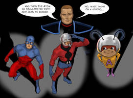 TLIID 287 Hanna Barbera mash-up - Atom-Ant-Man! by Nick-Perks