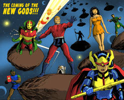 TLIID 292 Darwyn Cooke Tribute - The New Gods by Nick-Perks
