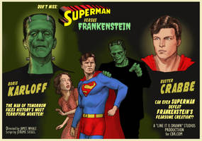 TLIID Hallowe'en special: Superman vs Frankenstein by Nick-Perks