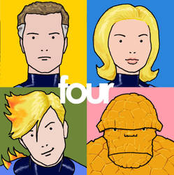 TLIID Album covers Fantastic Four on Best Of Blur by Nick-Perks