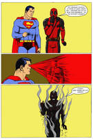 TLIID - Deadpool mocks... Silver Age Superman by Nick-Perks