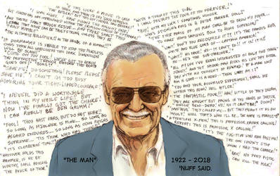 Stan 'The Man' Lee by Nick-Perks