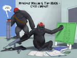 TLIID Super-kids - Monsieur Mallah and The Brain by Nick-Perks
