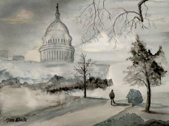 Misty Capital by Bigsteel
