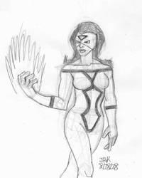 DSC Spider Woman by DarkKnightJRK