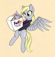 Shipping ponies around the world by LuneBat