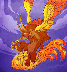 Simurgh by squeedgemonster