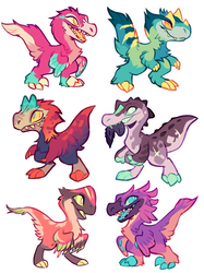 Dino Adopts! CLOSED by squeedgemonster