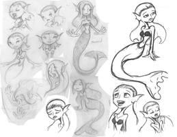 Mermaid by MonteCreations