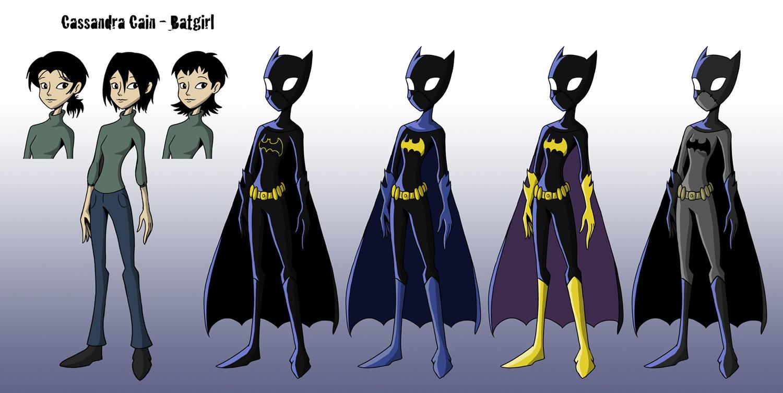 Cassandra Cain Animation Design by MonteCreations
