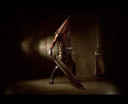 PyramidHead - Silent Hill 2 by Aoki-Lifestream
