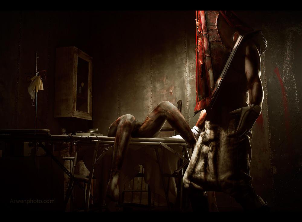 Secret room - Silent Hill 2 by Aoki-Lifestream