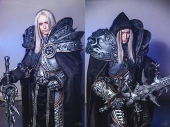 World of Warcraft - Arthas cosplay by Aoki-Lifestream