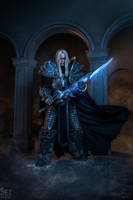 Arthas - No one orders me around! by Aoki-Lifestream