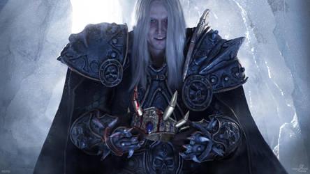 Arthas - King of Lordaeron by Aoki-Lifestream