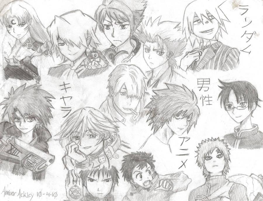 Character Design Anime Men Ecosia