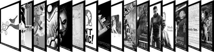Kindle SS Pack 1 Preview by thomasng