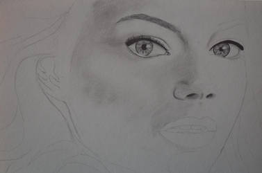 Emma Stone WIP 1 by Rachie-D18