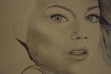 Emma Stone WIP 2 by Rachie-D18