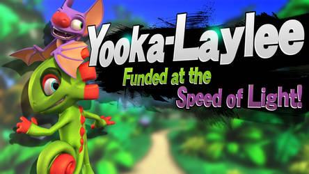 Yooka-Laylee - Smash Bros Splash Card by R-One-92