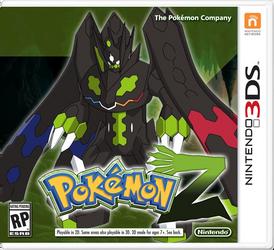 Pokemon Z Fake Boxart by R-One-92