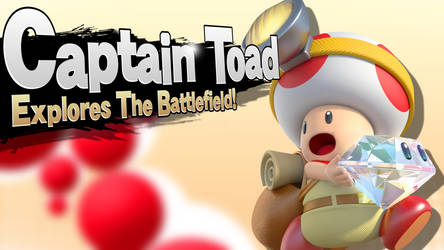 Captain Toad - Smash Bros Splash Card by R-One-92
