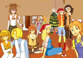 harvest moon winter contest by x-Charis-x