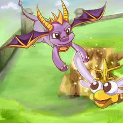 Spyro by x-Charis-x