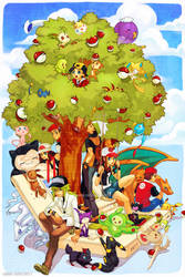 Pokemon - DS Style by Qinni