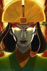 Avatar Kyoshi by Qinni