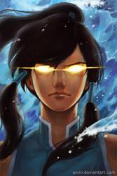 Avatar Korra by Qinni