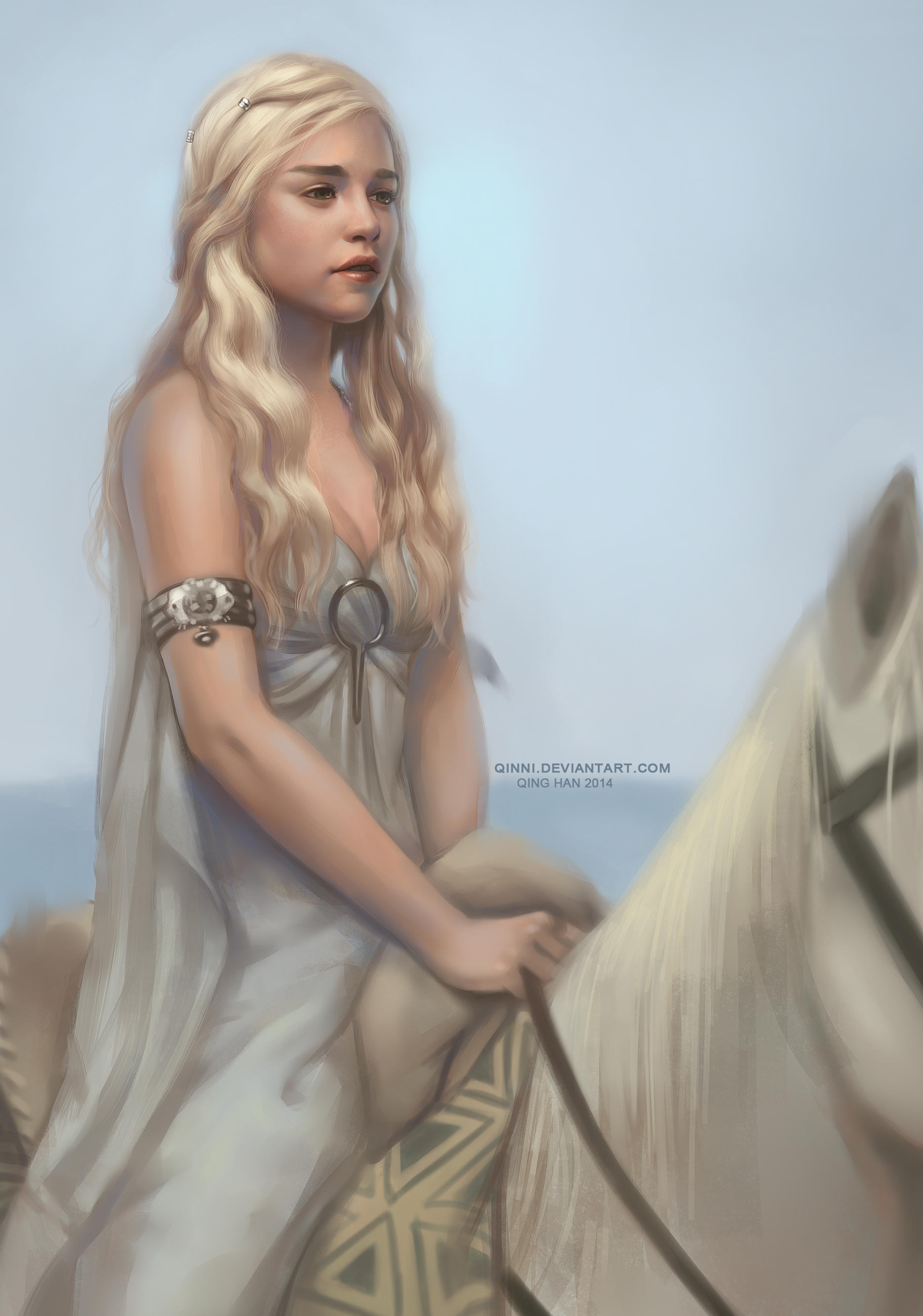 The Queen of Dragons by Qinni
