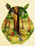 Totoro by Qinni
