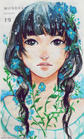 Forget me not. by Qinni