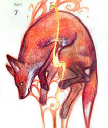 Fox Spirit by Qinni