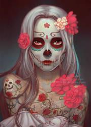 Dia de los Muertos by Qinni