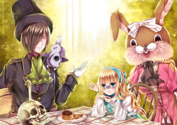 :: Alice Project :: Tea time by Linea-Lucifer