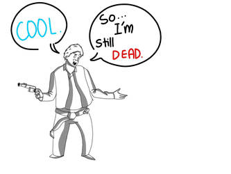Han Solo's Death by nerddrawer